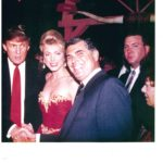 FORMER STATE SENATOR BOB ROVNER MEETS WITH DONALD J. TRUMP AND HIS 2ND WIFE, MARLA MAPLES